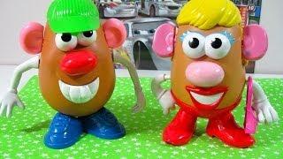 Señor y Señora Potato Nuevo modelo de Señora Potato