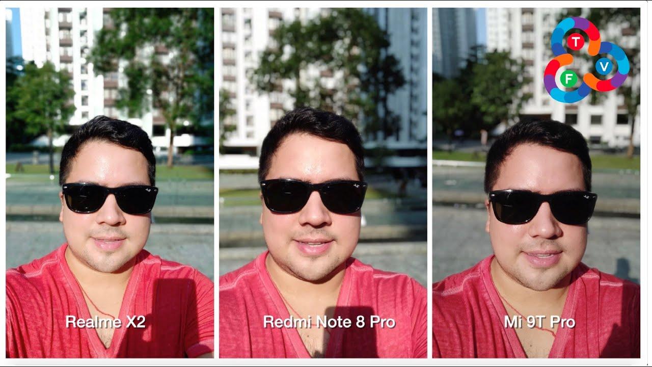 Realme X2 Vs Redmi Note 8 Pro Vs Mi 9t Pro Camera Shootout Youtube