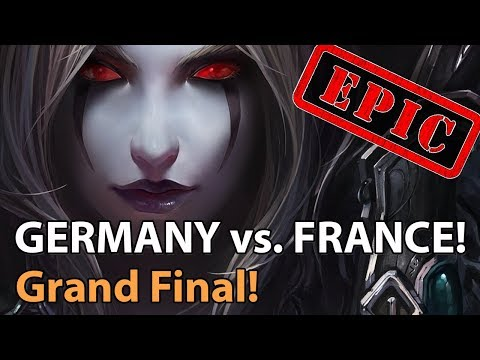 ► EPIC! France Vs. Germany - Nations Cup Grand Final - Heroes Of The Storm Esports