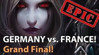 ► EPIC! France vs. Gerṁany - Nations Cup Grand Final - Heroes of the Storm Esports