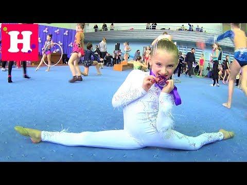 Еще одна ЗОЛОТАЯ МЕДАЛЬ / НИКОЛЬ ЧЕМПИОНКА / Соревнования по художественной гимнастике