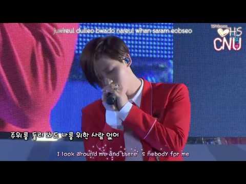[ENG SUB/Lyric] 150806 B1A4  (비원에이포) COMEBACK EVE - 10년후 (10 Years Later) LIVE