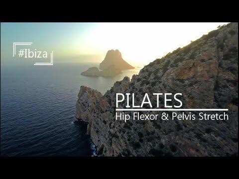 Pilates hip Flexor release workout