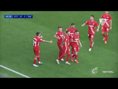 1-2: Un doblete de Iván da la primera victoria de la temporada al Sevilla Atlético frente al Córdoba