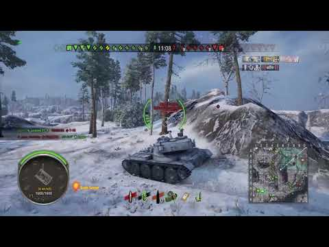 Batchat 25t AP Ace Tanker Game Play Wot (Ps4/Xbox)