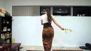 Tari Panyembrama with instructions, no music