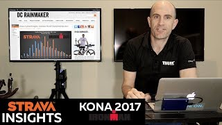 Strava activity data review from the 2017 IronMan World Championshi...