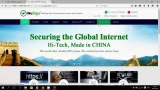 Получение бесплатного ssl сертификата Wosign(Пошаговое руководство как получить SSL сертификат китайским центром выдачи сертификатов Wosign + установка в nginx., 2016-02-17T20:39:14.000Z)
