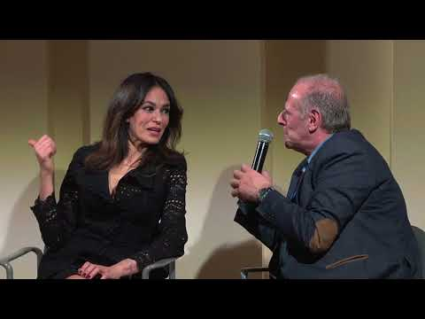 "Presentation of ""I Siciliani"" with Maria Grazia Cucinotta at New York University"