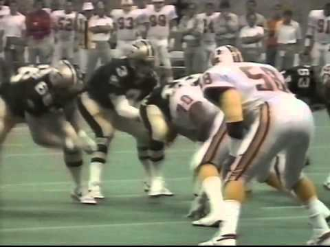 New Orleans Saints make the playoffs 1987 4th Down on Four