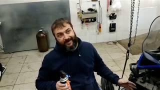 Как разобрать ведущий вариатор на снегоходе, видеоурок от специалиста