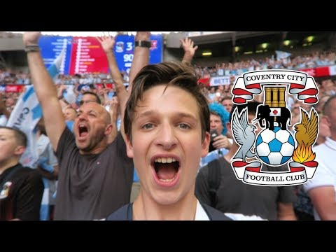 THE MOMENT COVENTRY CITY GOT PROMOTED TO LEAGUE ONE! Coventry City Vs Exeter City *VLOG*