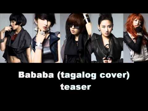 Bababa (tagalog cover) [teaser]