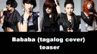 Bababa (tagalog cover) [teaser]