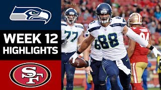 Seahawks vs. 49ers | NFL Week 12 Game Highlights
