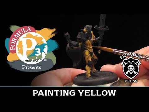 Formula P3 Presents: Painting Yellow