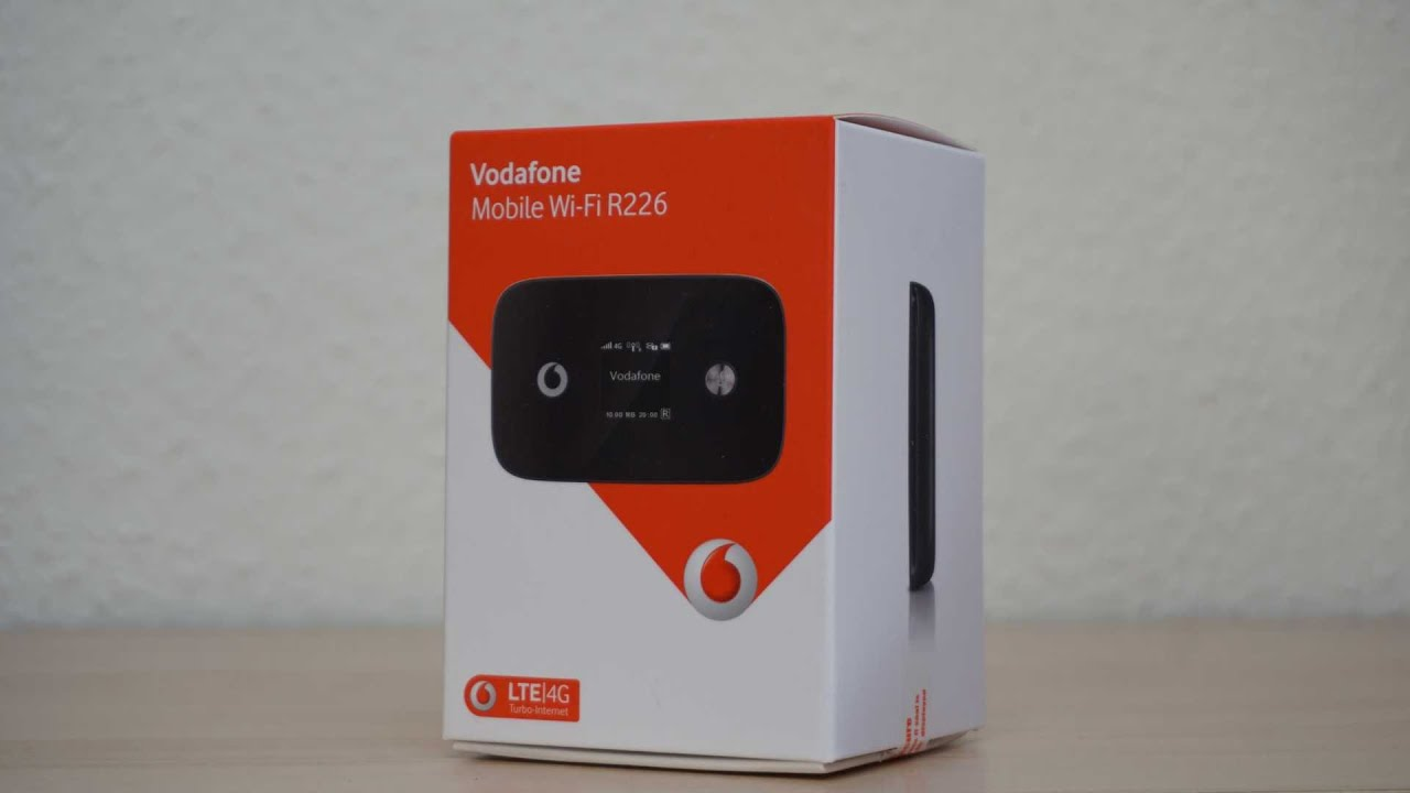 test vodafone r226 mobile wi fi hotspot lte youtube. Black Bedroom Furniture Sets. Home Design Ideas