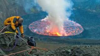 Nyiragongo Crater,  Journey to the Center of the World