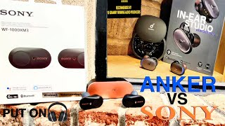 "Sony WF1000X M3 vs Anker SoundCore Liberty 2 Pro ""Just Listen to the SoundTest"""