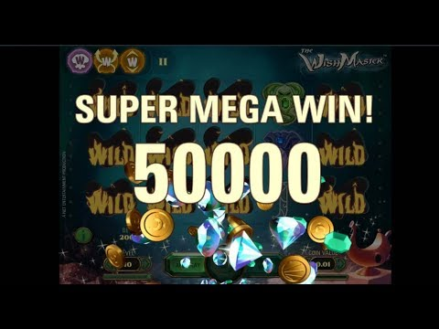 Wishmaster Slot - Super Mega Win - NetEnt