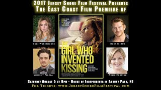 """""""The Girl Who Invented Kissing"""" Jersey Shore Film Festival Trailer 2017"""