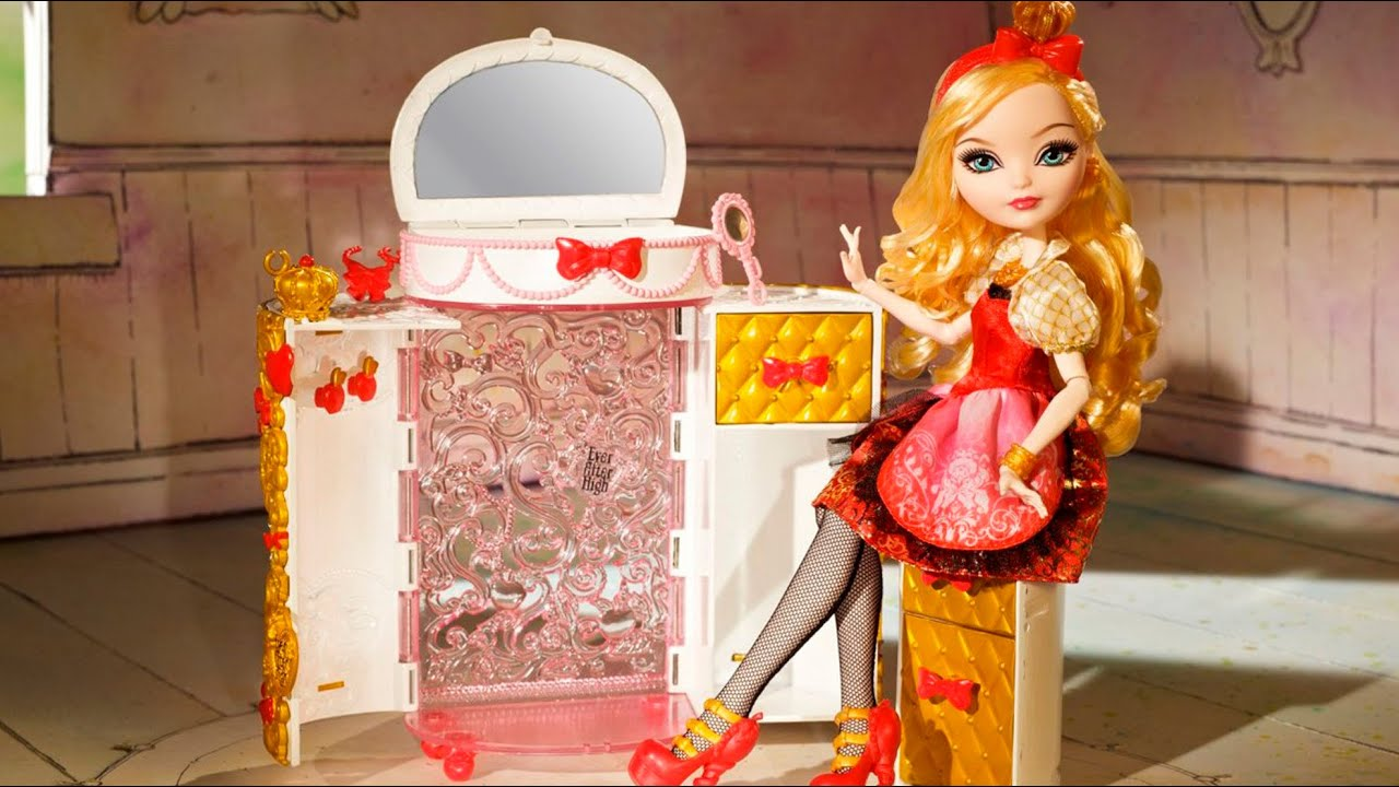 Apple Whites Jewelry Box Ever After High CFB18 MD Toys YouTube