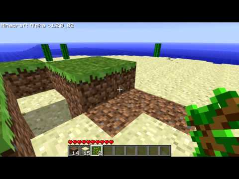Dead's Minecraft Island Survival Day 1