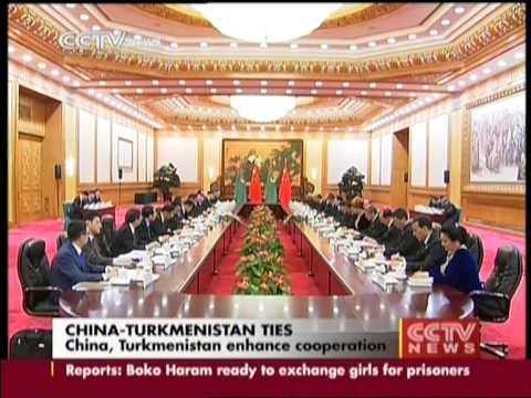 China, Turkmenistan enhance cooperation