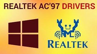 видео Cкачать драйвер Realtek ac97 audio