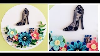 Quilling Flower Decoration Series // Quilling Flower Learning Video 13