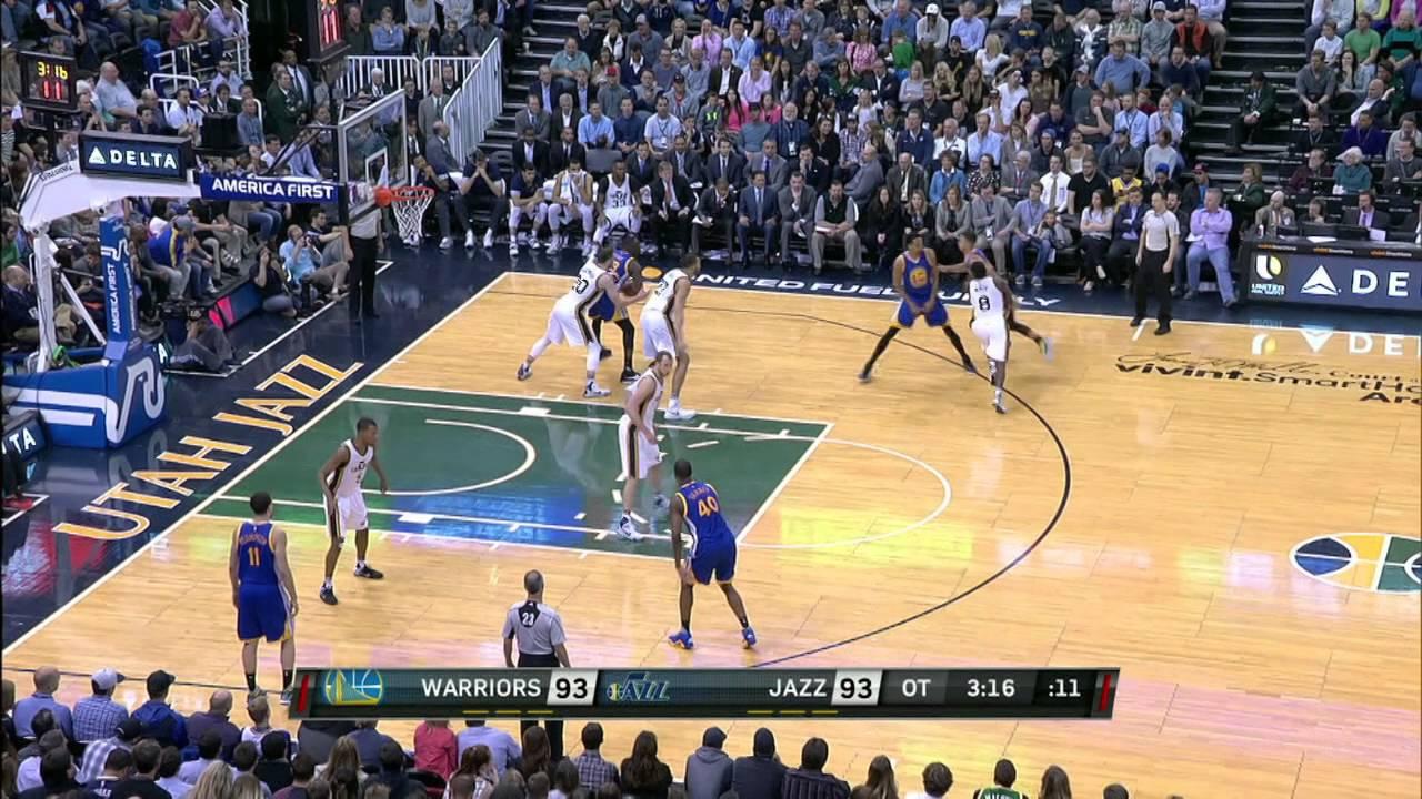 Warriors beat Jazz to take 3-0 lead