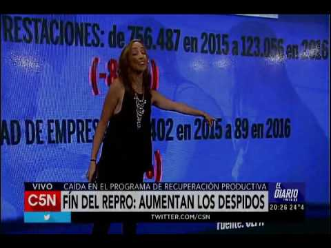 C5N - El Diario:  Aumentan los despidos