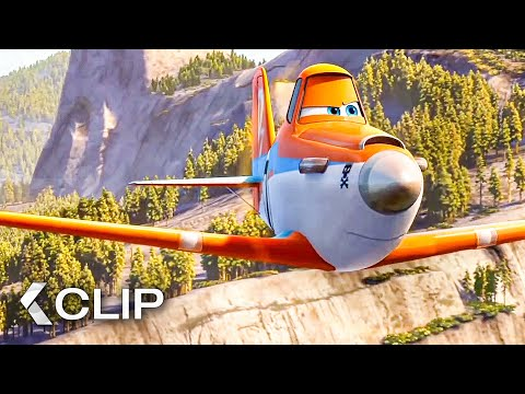 Extinguish The Wildfire - PLANES 2: Fire & Rescue Movie Clip (2014)