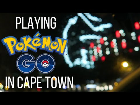 PLAYING POKEMON GO IN CAPE TOWN - Boring Cape Town Chick