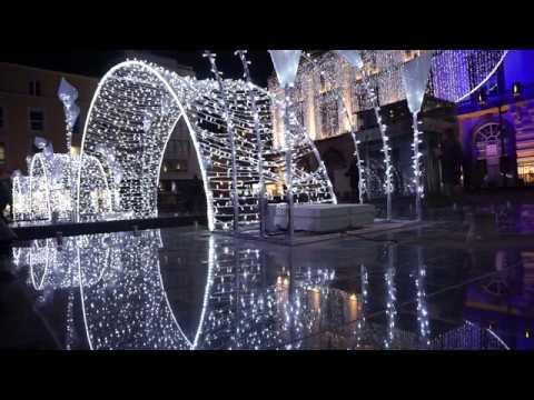 illumination noel clermont ferrand 2018 Illuminations 2016 Noël Place de Jaude à Clermont Ferrand   YouTube illumination noel clermont ferrand 2018