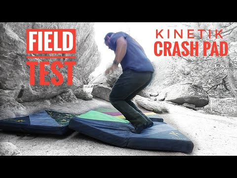 Kinetik Crash Pad Test Run And Why.