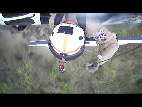 CHP Helicopter Rescue at Salinas River