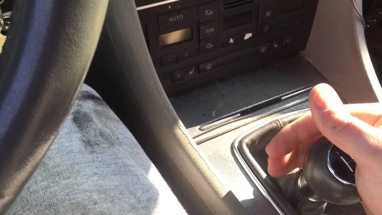b6 a4 5 speed transmission problem youtube rh youtube com Audi R8 Audi A8