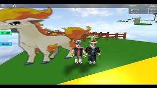 Piggy und Hawk-man Abenteuer   Roblox alle 151 Pokemon obby   Pt. 1
