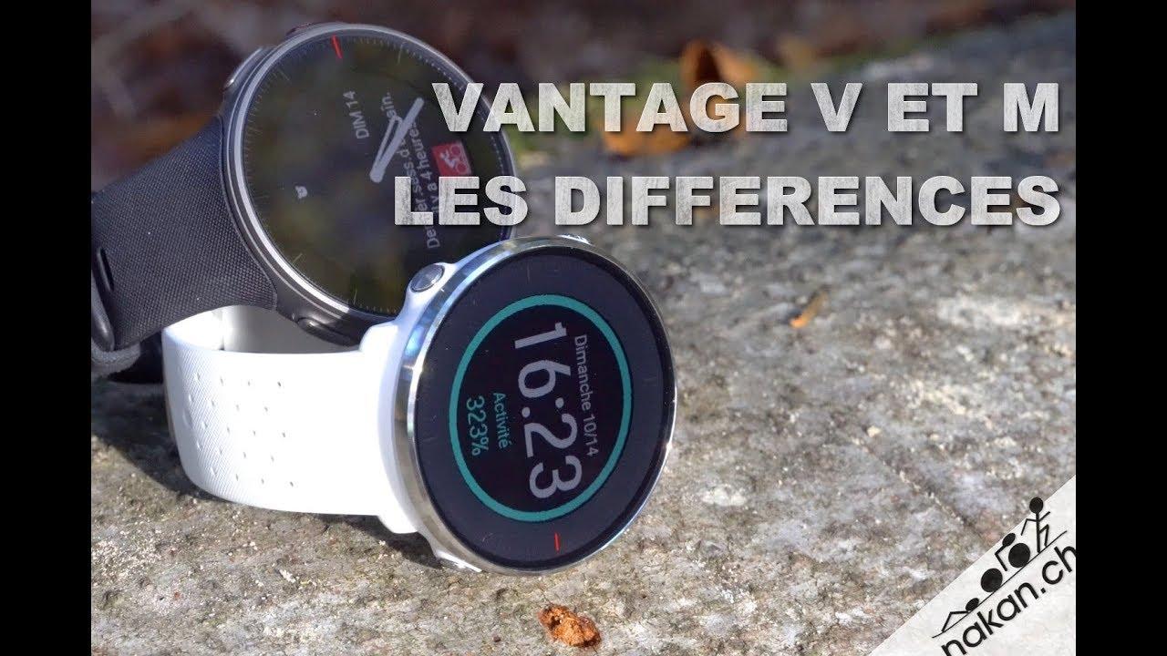 Polar Vantage V et M  les différences - YouTube a770766b8e6