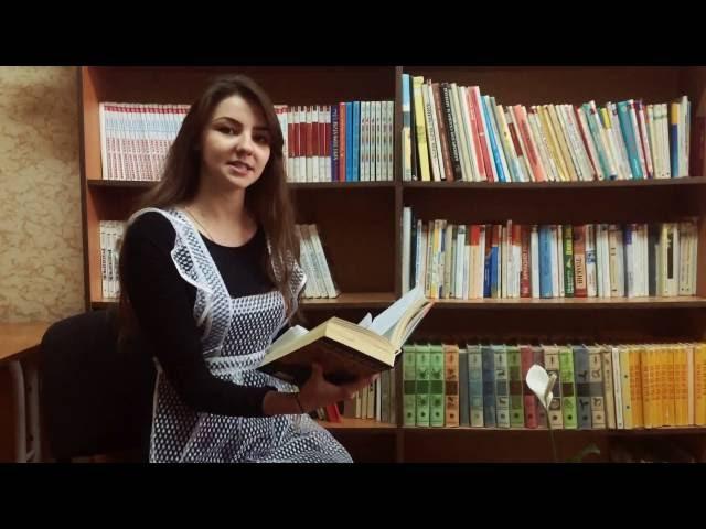 Изображение предпросмотра прочтения – АнастасияМайгурова читает произведение «Песня (на английском)» И.А.Бунина