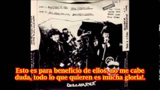 Discharge They Declare It (subtitulado español)
