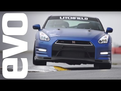 Litchfield Nissan GT-R onboard | evo Track Car of the Year