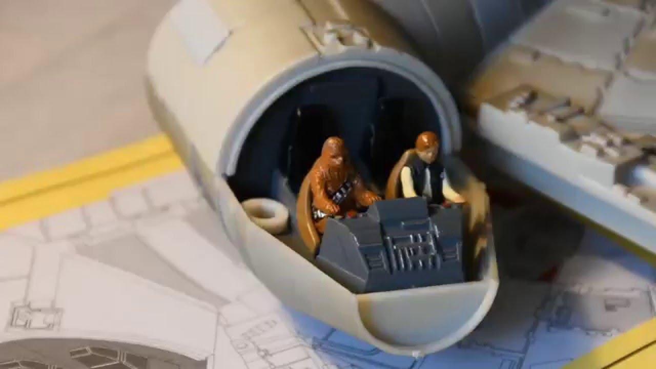 Revell - Star Wars Millennium Falcon Time Lapse Build (Easy kit)