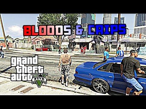 GTA 5 | BLOODS VS CRIPS #1 [HD]