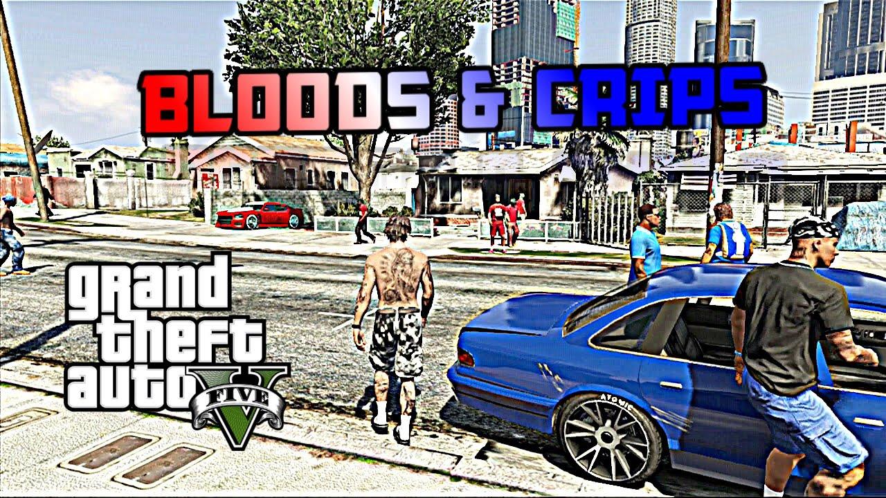 Gta 5  Bloods Vs Crips 1 Hd - Youtube-9883