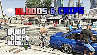 GTA5 Online|Bloods & Crips #1 [HD]