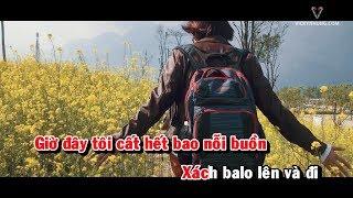 [Karaoke] Việt Nam những chuyến đi - Vicky Nhung