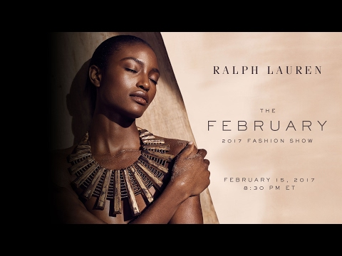 RALPH LAUREN |  February 2017 Fashion Show Live