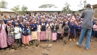 Maasai School Children Singing 2
